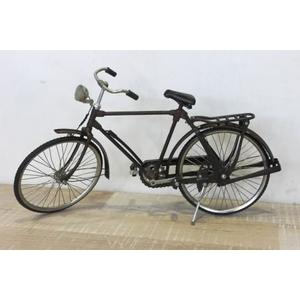 Bicicletta decorativa uomo in metallo vintage ideale come soprammobile linea BIKE - H25x43x12 cm
