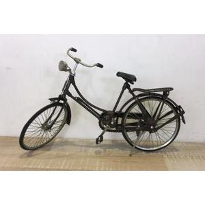 Bicicletta decorativa donna in metallo vintage ideale come soprammobile linea BIKE - H25x43x12 cm