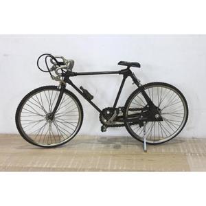 Bicicletta decorativa corsa in metallo vintage ideale come soprammobile linea BIKE - H20x40x12 cm