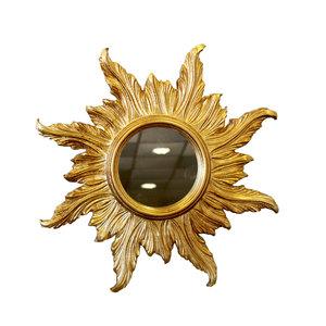 SPECCHIO SOLE 8 RAGGI GOLD