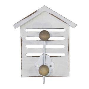 Appendino da parere in legno con gancio LINEA MARINE - 16x13 cm