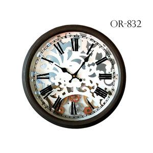 Orologio da parete con ingranaggi decorativo - diametro 40 cm