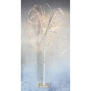 Albero natale luminoso luce led glitterato  - 92x80x180h cm