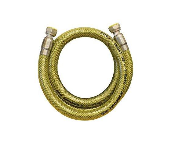 Flessibile Acciaio Inox Rivestito Pvc Gas 100cm