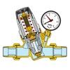 Riduttore di pressione caleffi 1.1