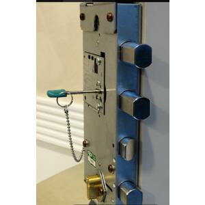 """serratura per porta corazzata """"PANZETTA"""""""