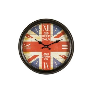 Orologio da parete Keep Calm UK Collection