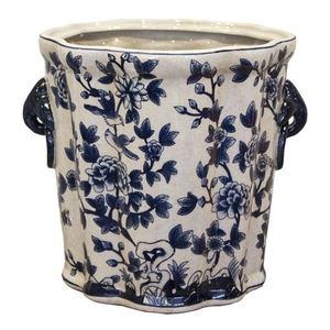 Vaso decorato in ceramica