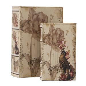 Set 2 scatole porta oggetti Bird