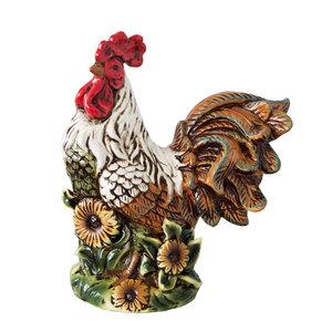 Gallo in ceramica