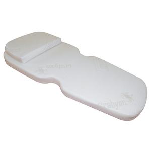 Memory Crabyon - Linea Sonno - questibimbi - set carrozzina TRIO 2pz - materassino sagomato+guanciale