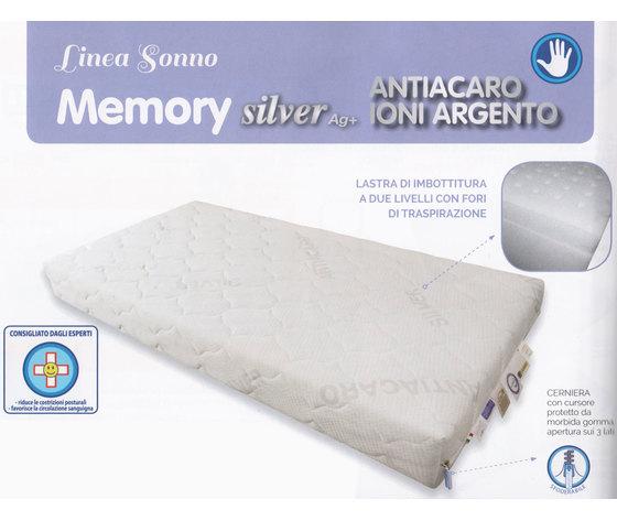 Memory Silver Ag+- Linea Sonno - questibimbi - materasso