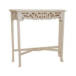 Consolle bianco Shabby Chic