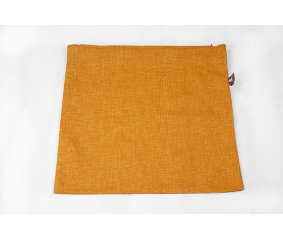 fodera, cuscino, bombato, quadrato, sfoderatile, zip, rivestimento, robusto, Mirah, arancione