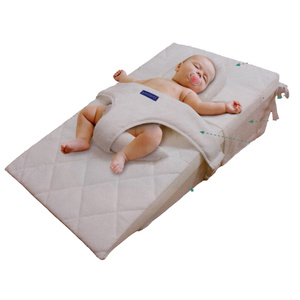 Sistema sonno antireflusso kit guanciale fissaggio imbragatura materasso 50x75cm