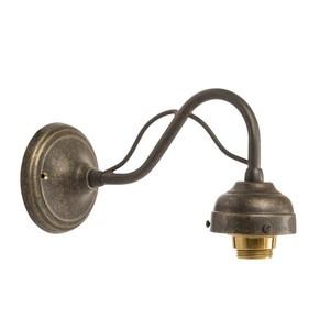 Applique in ottone anticato 1 luce
