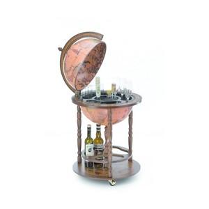 Mappamondo bar con ripiano