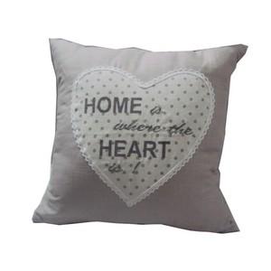 Cuscino 'Home' con cuore