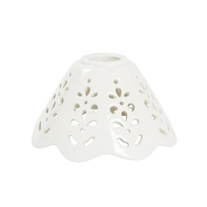 piatto in ceramica a cono traforato 13cm