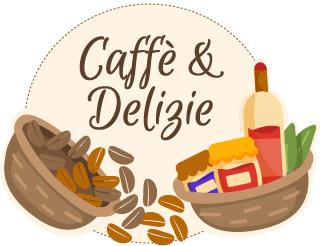 Logo caffe e delizie