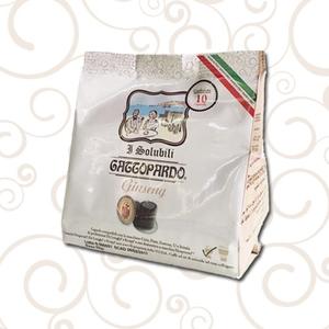 10 capsule Ginseng I Solubili Gattopardo To.Da. Compatibili Nespresso