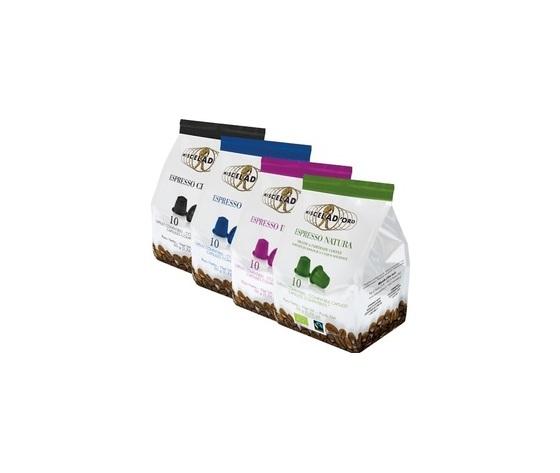 40 capsule miste caffè Miscela d'Oro Compatibili Nespresso