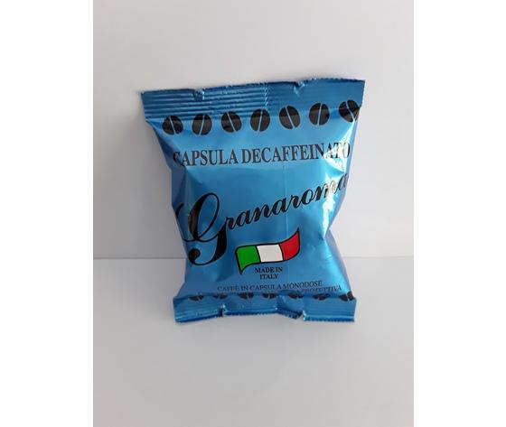 100 capsule caffè Decaffeinato Granaroma Compatibili Lavazza Espresso Point
