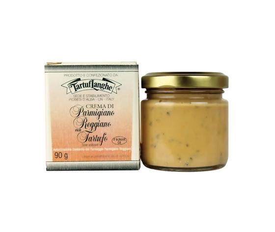Crema di Parmigiano Reggiano D.O.P. con tartufo (Tuber aestivum Vitt.) Tartuflanghe