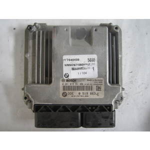 1-104 Centralina Motore Bosch 0 281 018 991 0281018991 1039S54422 DDE 8 519 663 MINI Diesel COOPER B 180 1.6