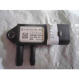 31-78 Sensore Pressione Alimentazione Volkswagen 0 281 006 083 0281006083 DPS10 059906051C VARIE