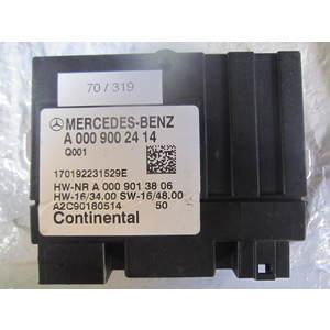 70-319 Modulo di Controllo Continental A 000 900 24 14 A0009002414 A2C90180514 HW 16/34.00 SW 16/48.00 MERCEDES BENZ VARIE