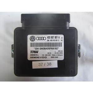 37-38 Centralina sensori parcheggio TRW 4E0 907 801 A 4E0907801A 32620018 5WK3 2446 AUDI VARIE