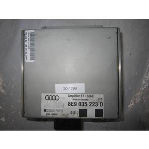 20-299 Amplificatore Audio Harman 8E9 035 223 D 8E9035223D B7/6368 B76368 AUDI A 4