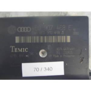 70-340 Modulo Gateway Temic 4E0 907 468 E 4E0907468E 4715 TF7-MNL 4715TF7MNL AUDI A 8