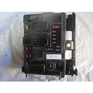 60-132 Scatola Fusibili Siemens T118470004 L T118470004L BSM-B4 BSMB4 9650618380 CITROEN / PEUGEOT Benzina 206 1.6