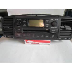 Autoradio Toyota 8612002380 86120-02380 W58814 CQ-TS7471LC CQTS7471LC TOYOTA COROLLA