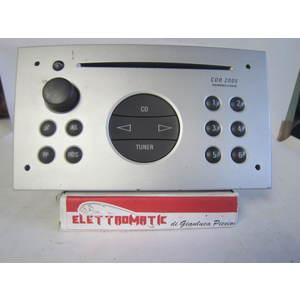 Autoradio Siemens 330886636 CDR2005 OPEL MERIVA