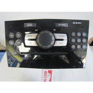 Autoradio Grundig 497316088 497 316 088 CD 30 MP3 CD30MP3 13254192 OPEL CORSA