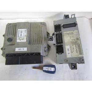 Kit Motore Magneti Marelli 55195817 4R6SHR87F BODY COMPUTER BODYCOMPUTER CHIAVE ALFA ROMEO / FIAT / LANCIA Punto Mjt 188 70cv