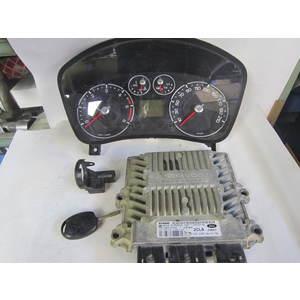 Kit Motore Siemens 5WS40433AT 5WS40433A-T SID 804 SID804 2S6T-15607-BC 2S6T15607BC VP6S6F-10894 VP6S6F10894 CHIAVE FORD FIESTA 1.4 TDI
