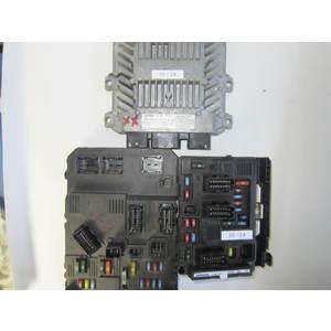 Kit Motore Siemens 5WS40110CT 5WS40110C-T SID 804 SID804 S118085200 J S118085200J 9652474480 T118470004 J T118470004J CITROEN / PEUGEOT C3 1.4 HDI