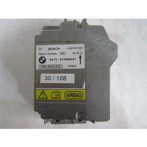 Centralina Airbag Bosch 0285001533 0 285 001 533 65.77 - 9119058-01 6577911905801 BMW E90 2005-2013