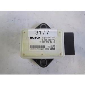 31-7 Sensore Antimbardata Bosch 0 265 005 774 0265005774 A 006 542 42 18 A0065424218 SMART Generica FORTWO 451