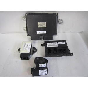 Kit Motore Smart A4515456532001 A 451 545 65 32/001 G2T60172H4ZE 5WK11517ABF HW 1.0 SW 1.1 5WK11517ABFHW10SW11 0 265 005 774 0265005774 A 451 820 1597/003 A4518201597003 SMART FORTWO 451