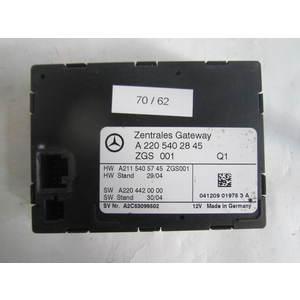 Modulo Gateway Mercedes Benz A2205402845 A 220 540 28 45 ZGS 001 ZGS001 MERCEDES BENZ VARIE