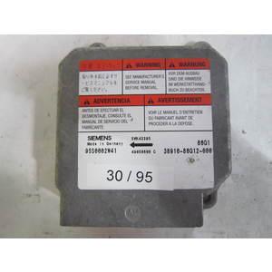 Centralina Airbag Siemens 5WK43395 95S0002W41 38910-86G12-000 3891086G12000 SUZUKI IGNIS