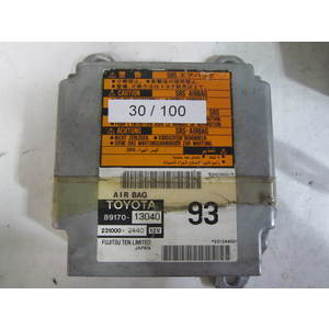 Centralina Airbag Fujitsu 8917013040 89170-13040 231000-2440 2310002440 TOYOTA VARIE