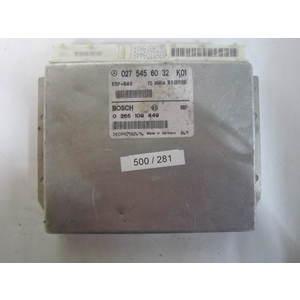 Centralina ABS ESP HBA Bosch 0265109449 0 265 109 449 027 545 60 32 0275456032 MERCEDES BENZ CLASSE A W168