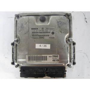 Centralina Motore Bosch 0281011279 0 281 011 279 P56044 299AD P56044299AD 1039S03118 FE5AB JEEP Grand Cherokee 2.8CRD EDC15C5