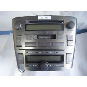 Autoradio Panasonic 8612005080 86120-05080 CQ-MS6271L CQMS6271L W53900 TOYOTA AVENSIS